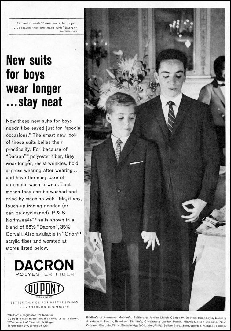 DU PONT DACRON SATURDAY EVENING POST 08/15/1959 p. 88