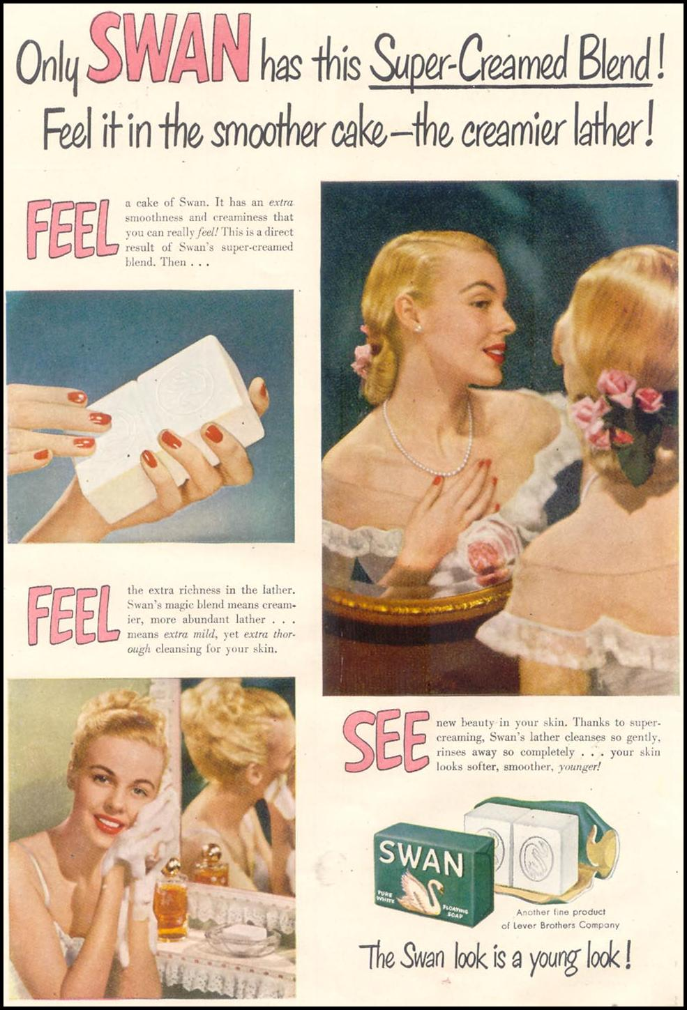 SWAN SOAP GOOD HOUSEKEEPING 07/01/1948 p. 21