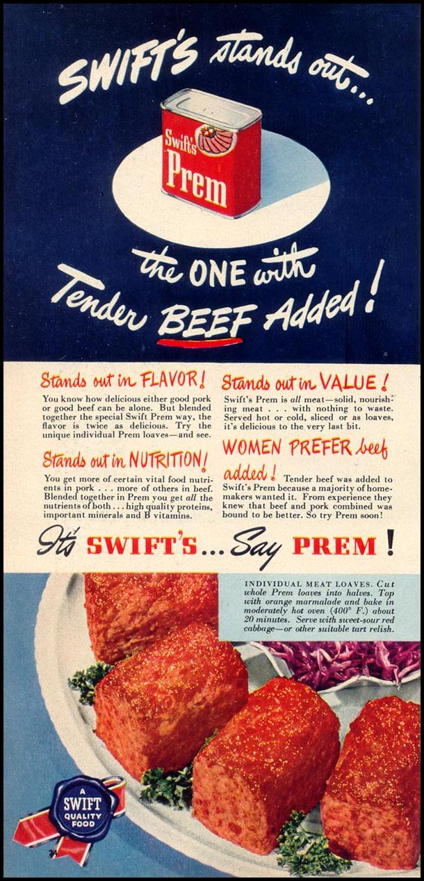SWIFT'S PREM WOMAN'S DAY 03/01/1948 p. 24