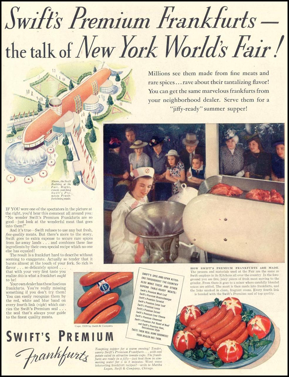 SWIFT'S PREMIUM FRANKS LIFE 07/24/1939 p. 51