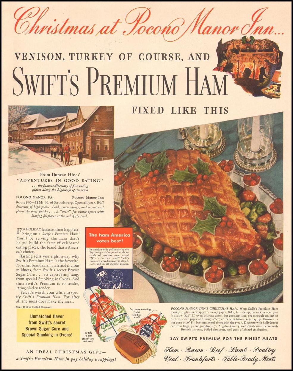 SWIFT'S PREMIUM HAM LIFE 12/16/1940 p. 5