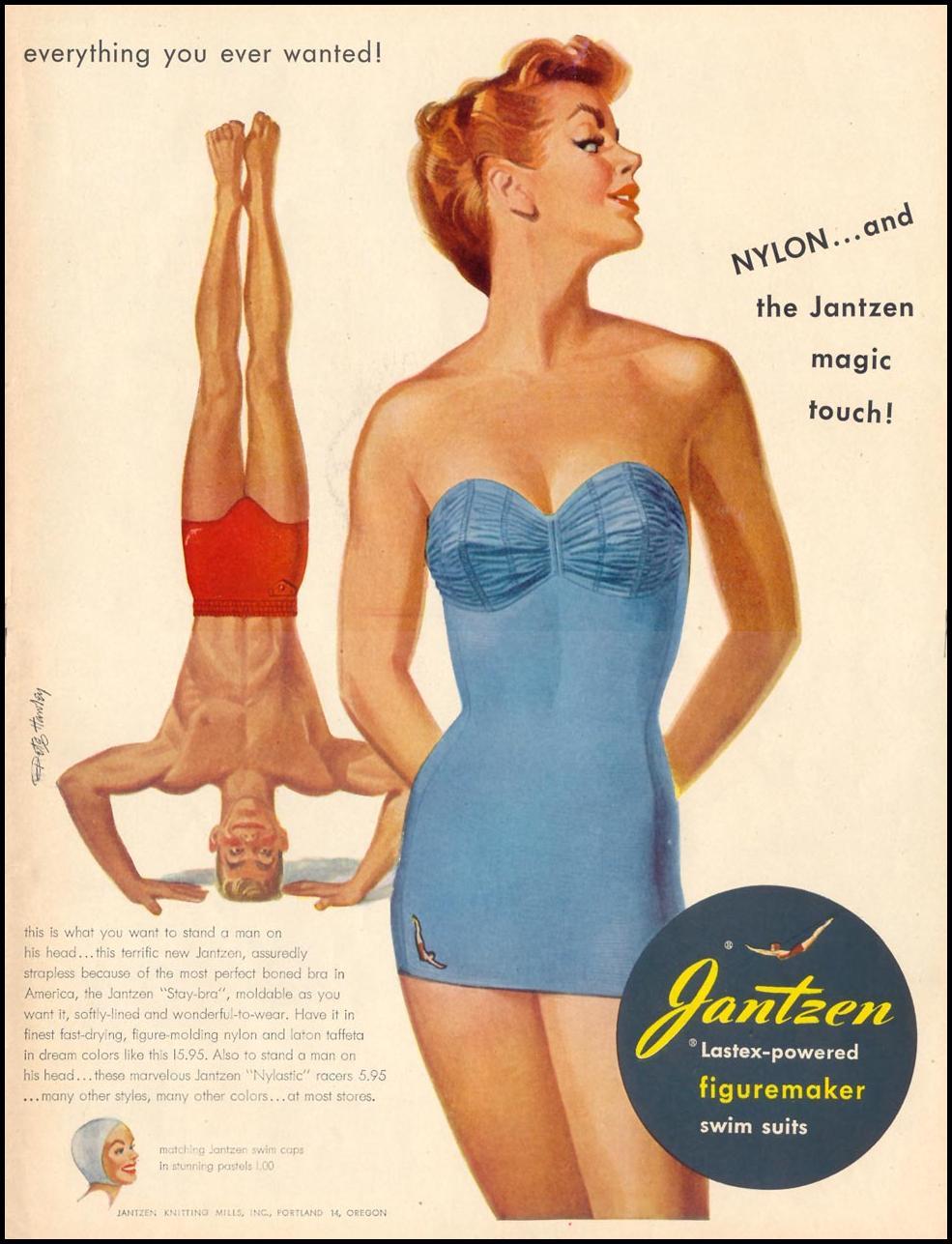 JANTZEN SWIM SUITS LIFE 06/05/1950 p. 17