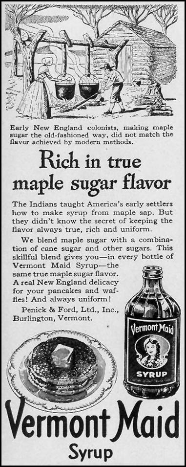 VERMONT MAID SYRUP LIFE 02/21/1944 p. 127