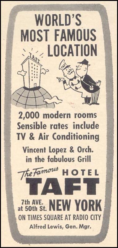 HOTEL TAFT TIME 12/07/1962 p. 66