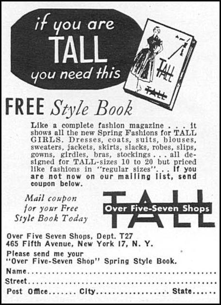 SPRING STYLE BOOK WOMAN'S DAY 02/01/1954 p. 154