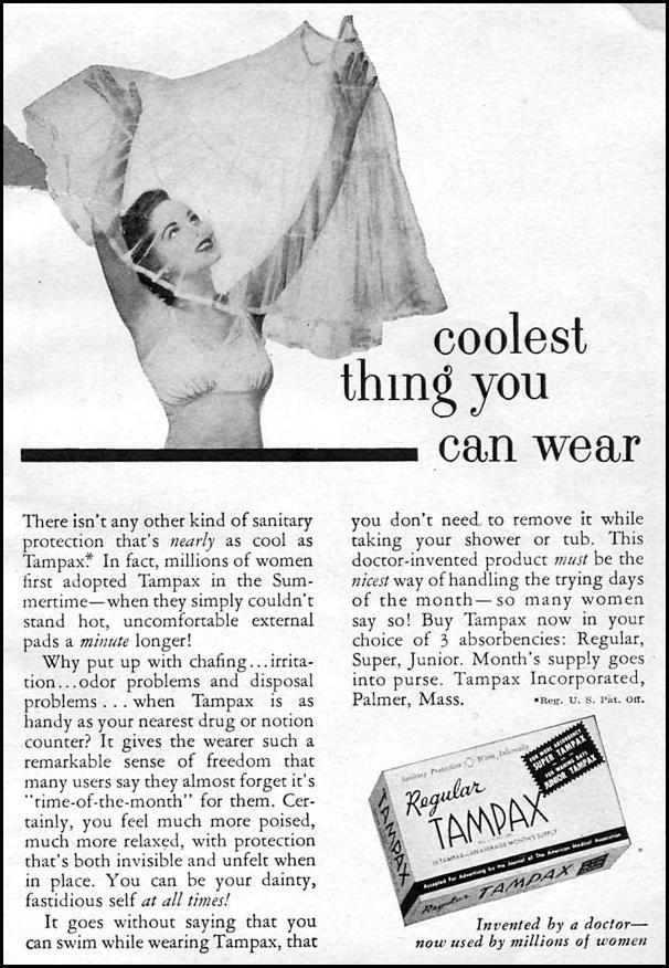 TAMPAX CORONET 08/01/1955 p. 89