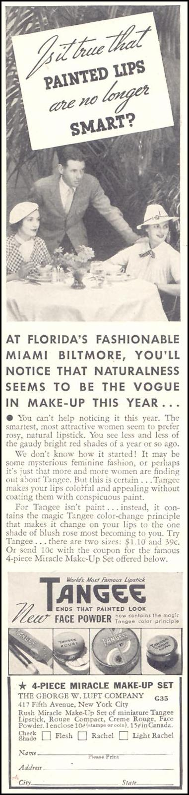 TANGEE LIPSTICK