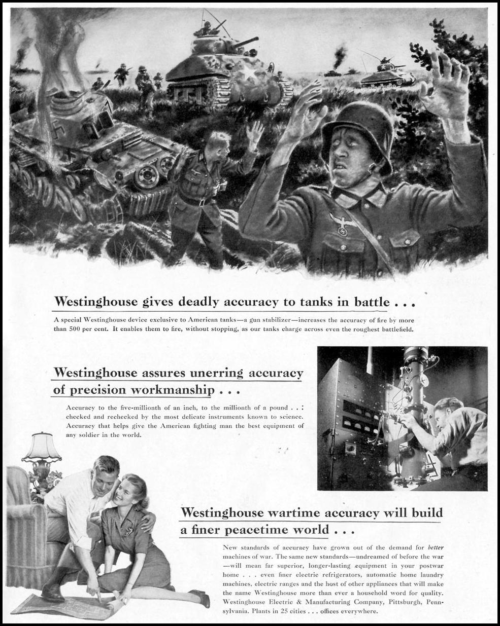 WESTINGHOUSE WAR PRODUCTION