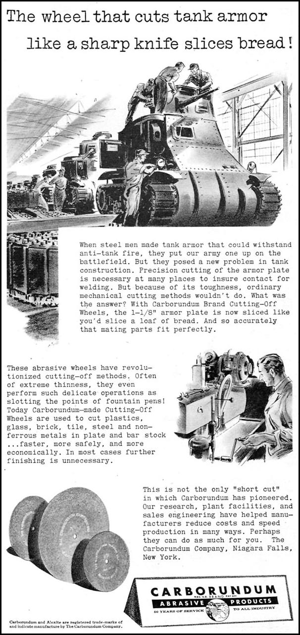 CARBORUNDUM ABRASIVE PRODUCTS TIME 02/16/1942 p. 91
