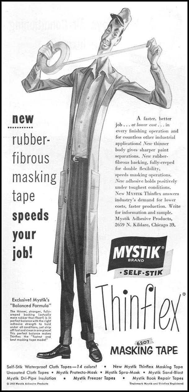THINFLEX MASKING TAPE TIME 06/08/1953 p. 82