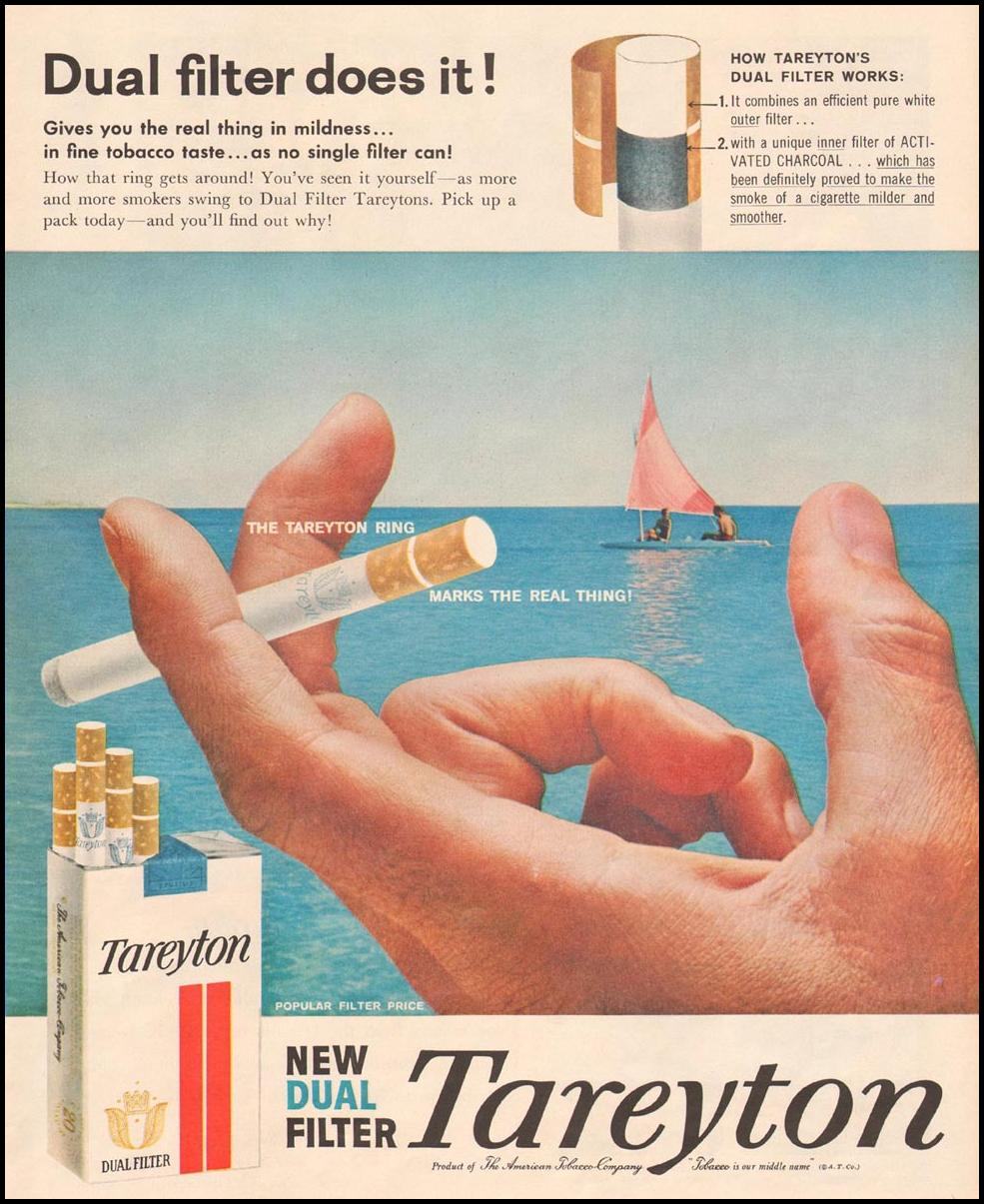 TAREYTON CIGARETTES LIFE 08/10/1958