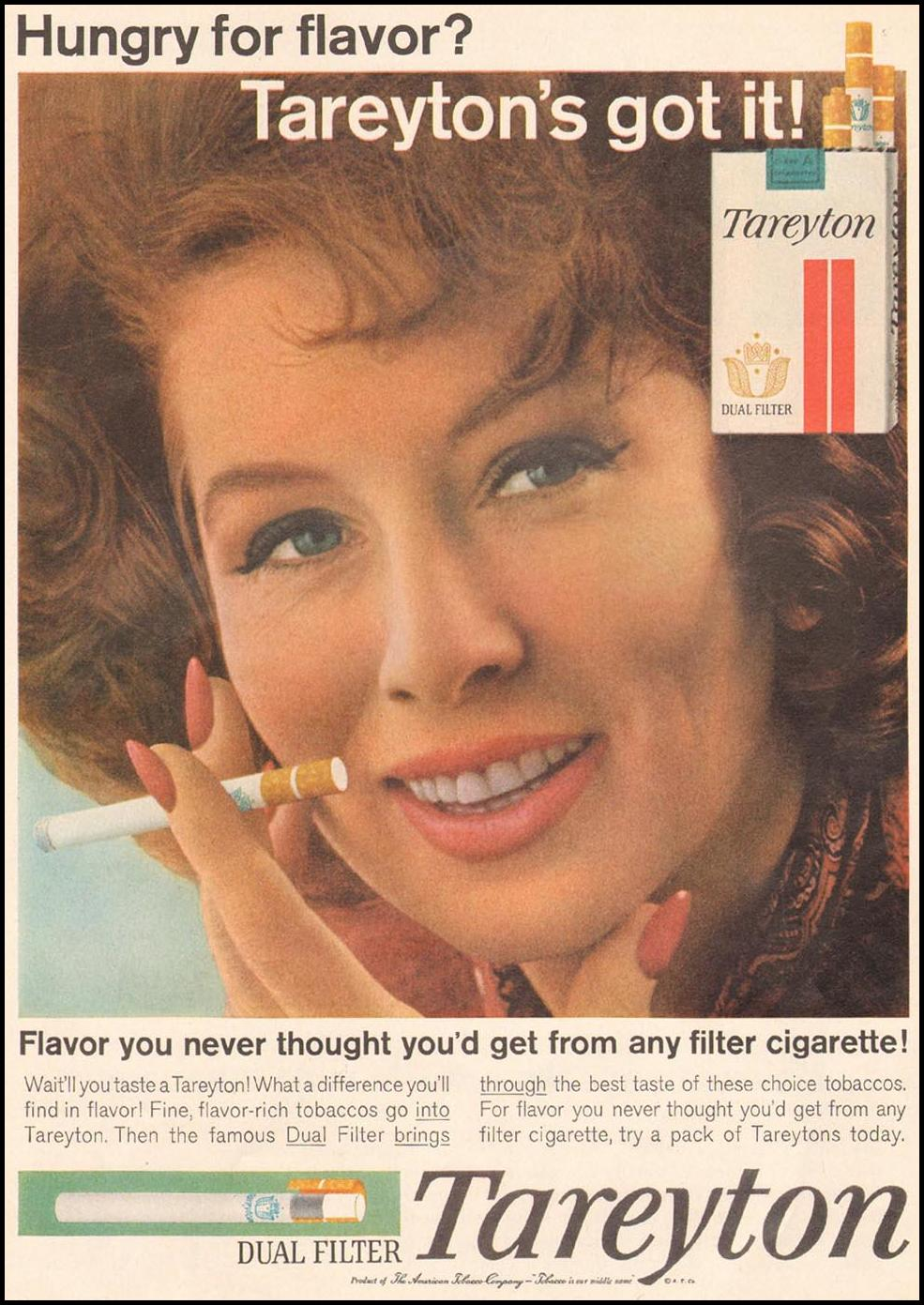 TAREYTON CIGARETTES TIME 05/24/1963 p. 36