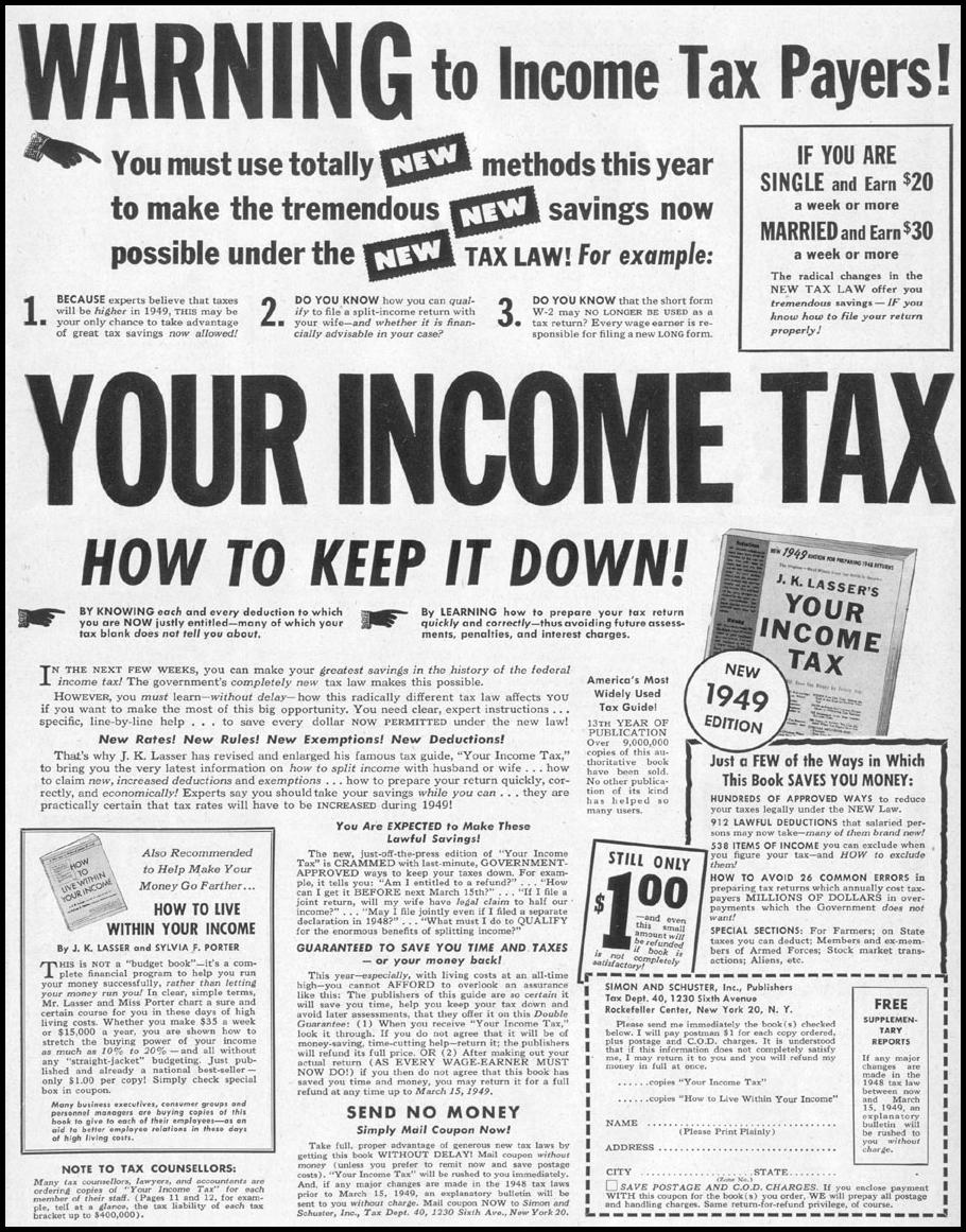 YOUR INCOME TAX LIFE 12/27/1948 p. 3