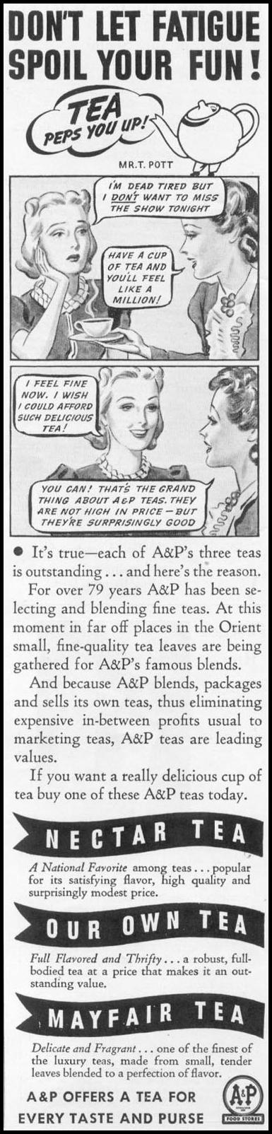A & P TEA WOMAN'S DAY 03/01/1939 p. 2