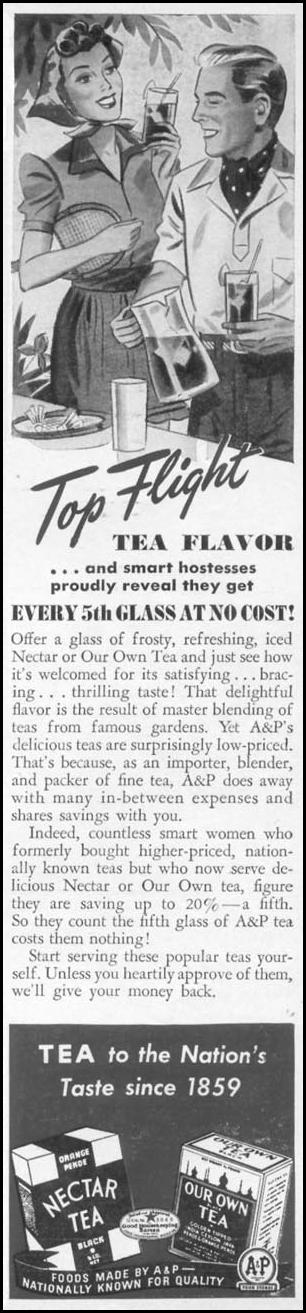 A & P TEA WOMAN'S DAY 06/01/1941 p. 65
