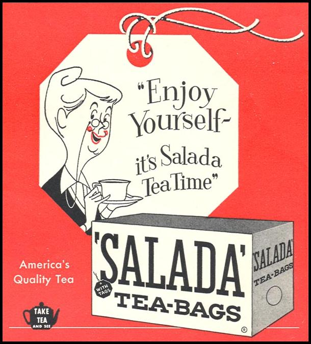 SALADA TEA WOMAN'S DAY 09/01/1955 p. 135