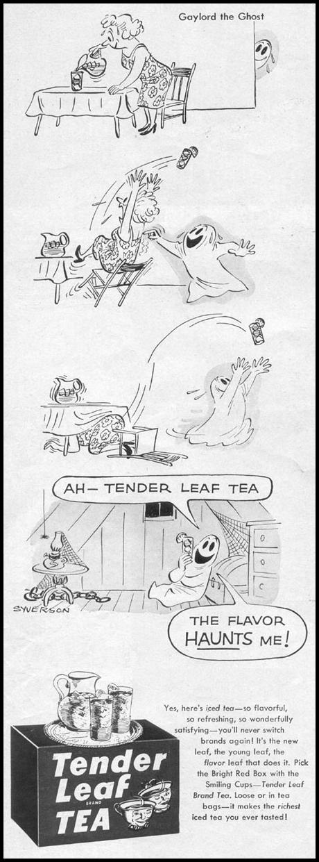 TENDER LEAF TEA LIFE 07/12/1954 p. 52