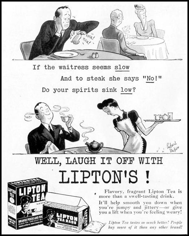 LIPTON TEA LIFE 11/08/1943 p. 120