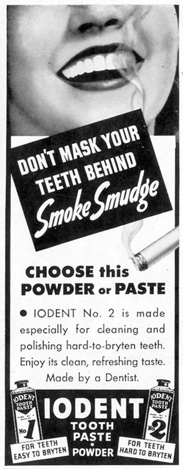IODENT TOOTHPASTE LIFE 05/24/1943 p. 99
