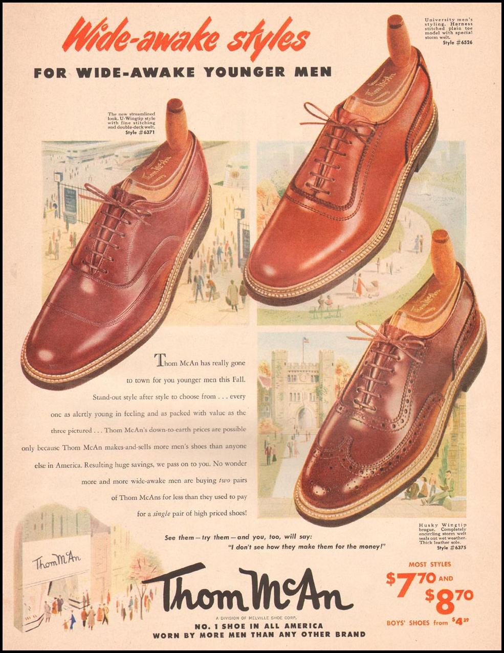 THOM MCAN SHOES LIFE 09/03/1951 p. 93