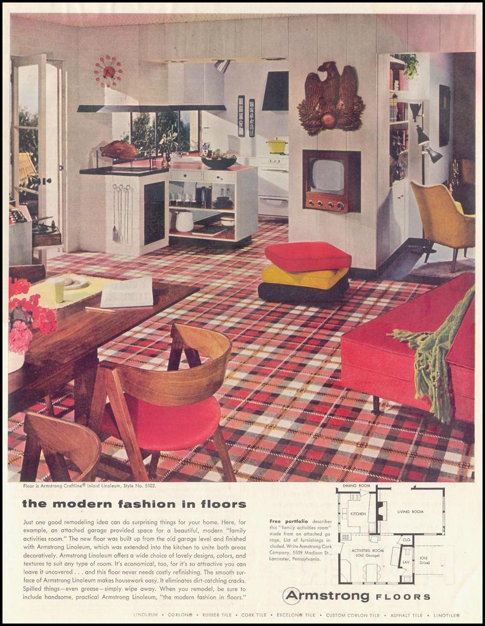 ARMSTRONG FLOORS SATURDAY EVENING POST 09/03/1955