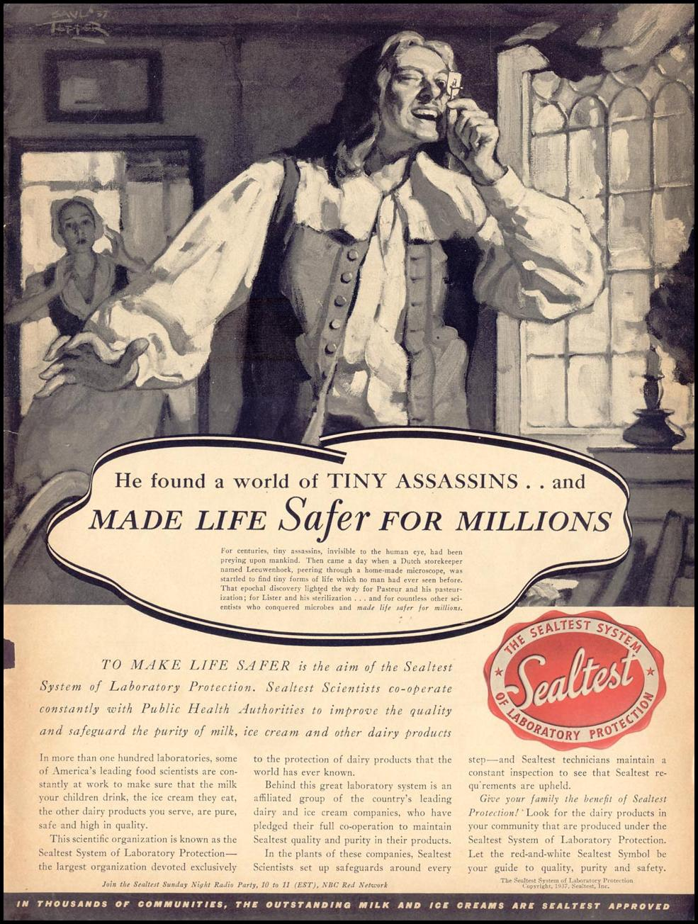 SEALTEST SYSTEM OF LABORATORY PROTECTION LIFE 09/20/1937