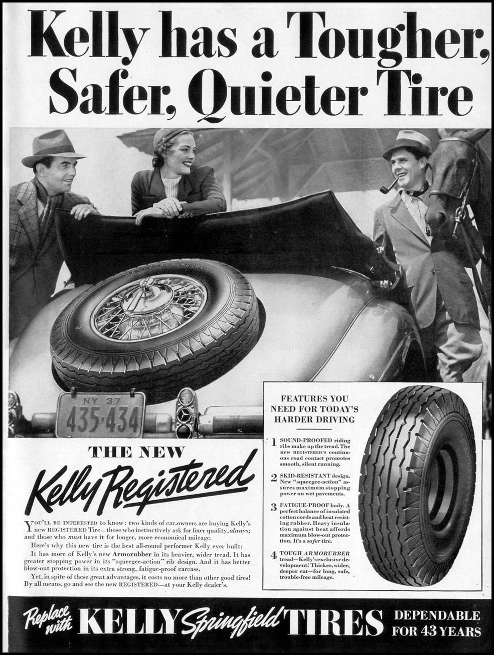 KELLY-SPRINGFIELD TIRES LIFE 09/20/1937 p. 111