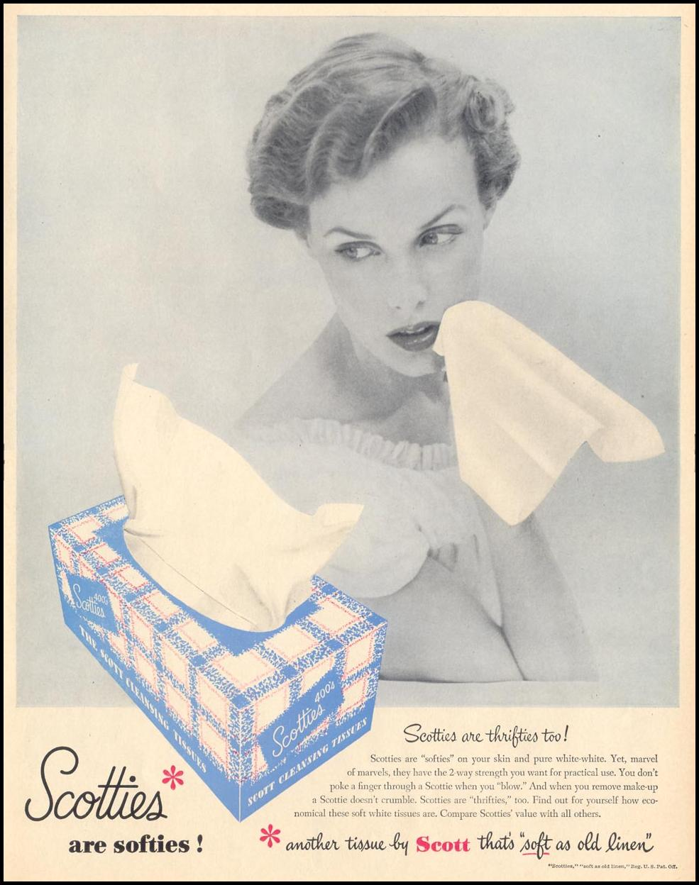 SCOTTIES CLEANSING TISSUES LIFE 06/05/1950 p. 79