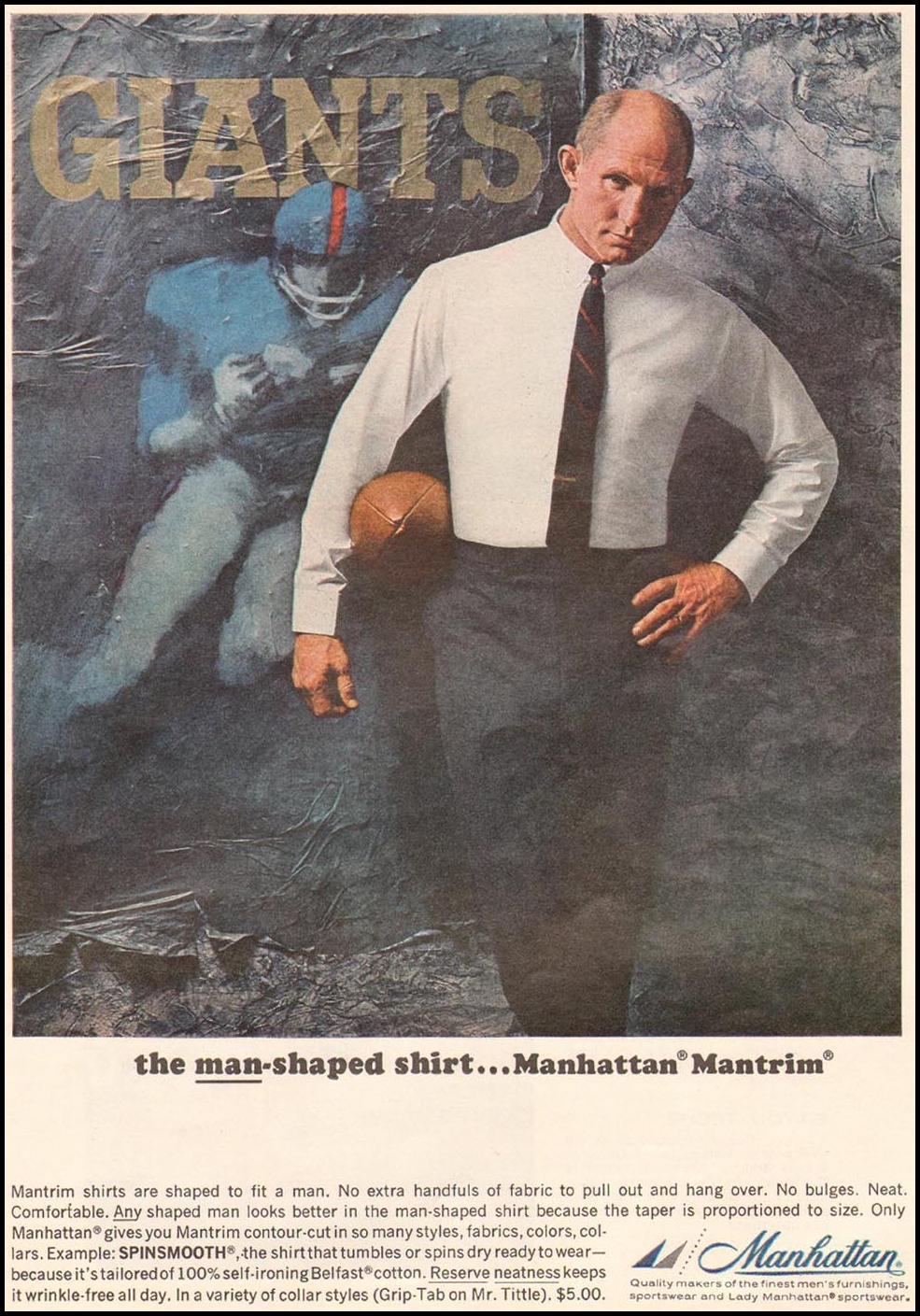 MANHATTAN MANTRIM SHIRTS TIME 10/04/1963 p. 84