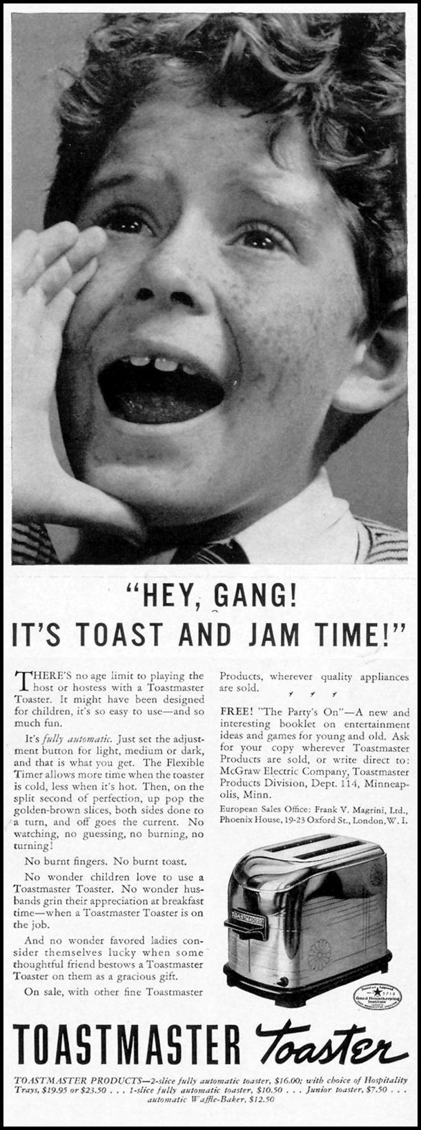 TOASTMASTER TOASTER LIFE 09/27/1937 p. 15
