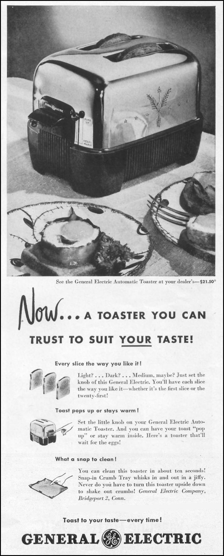 AUTOMATIC TOASTER LIFE 10/11/1948 p. 23