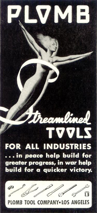 PLOMB STREAMLINED TOOLS TIME 06/15/1942 p. 52