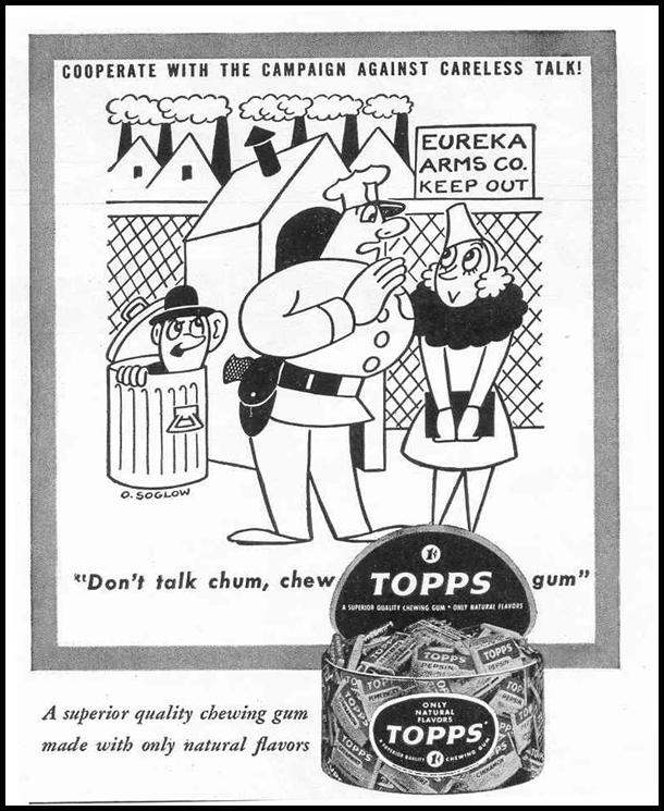 TOPPS CHEWING GUM