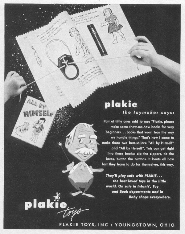 PLAKIE TOYS LIFE 10/13/1952 p. 98