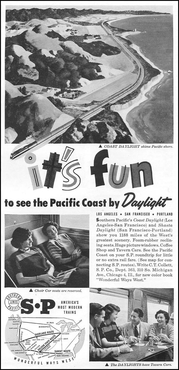 RAIL TRAVEL TIME 06/08/1953 p. 87