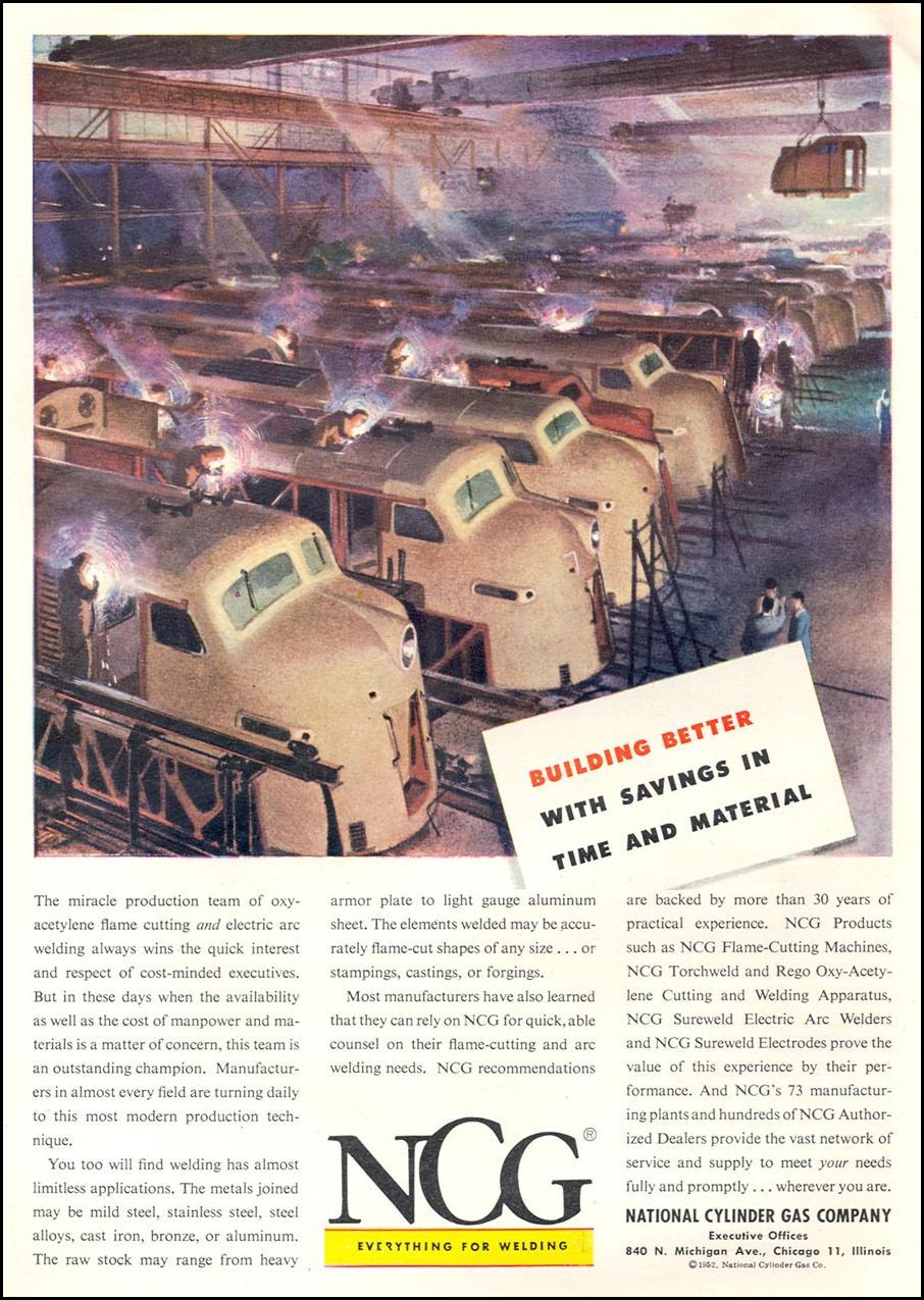 WELDING APPARATUS TIME 06/08/1953 p. 92