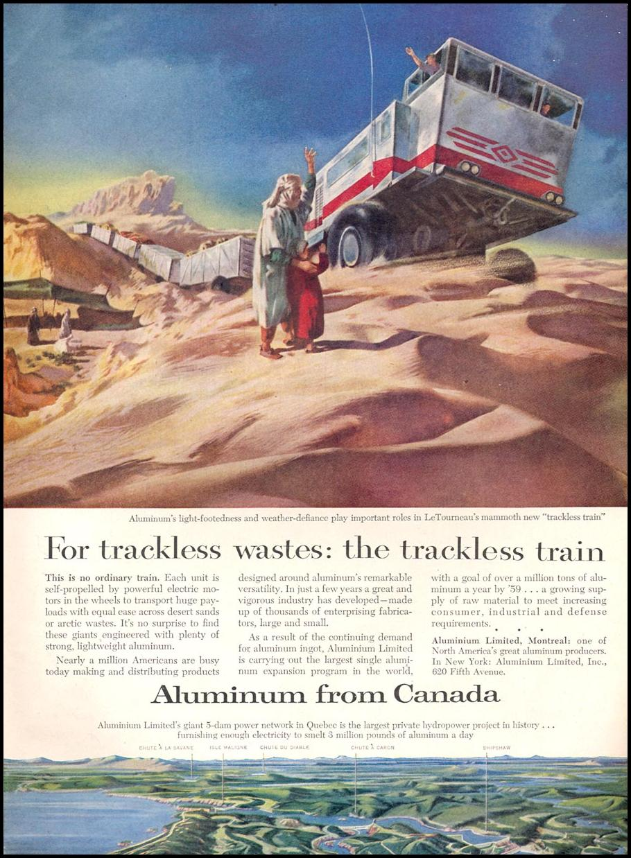 ALUMINUM FROM CANADA TIME 09/17/1956 p. 77