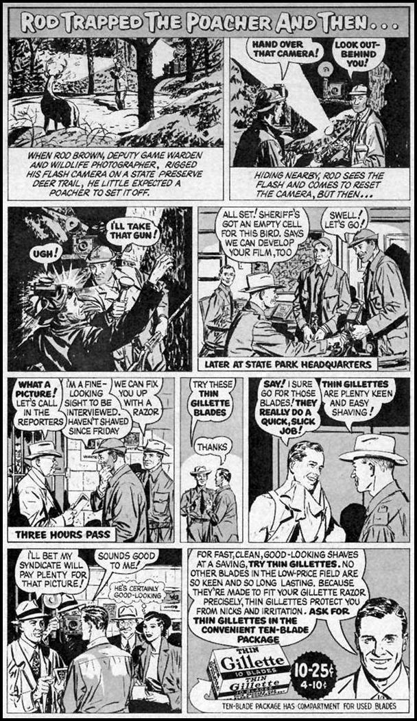 GILLETTE RAZOR BLADES LOOK 12/04/1951 p. 67