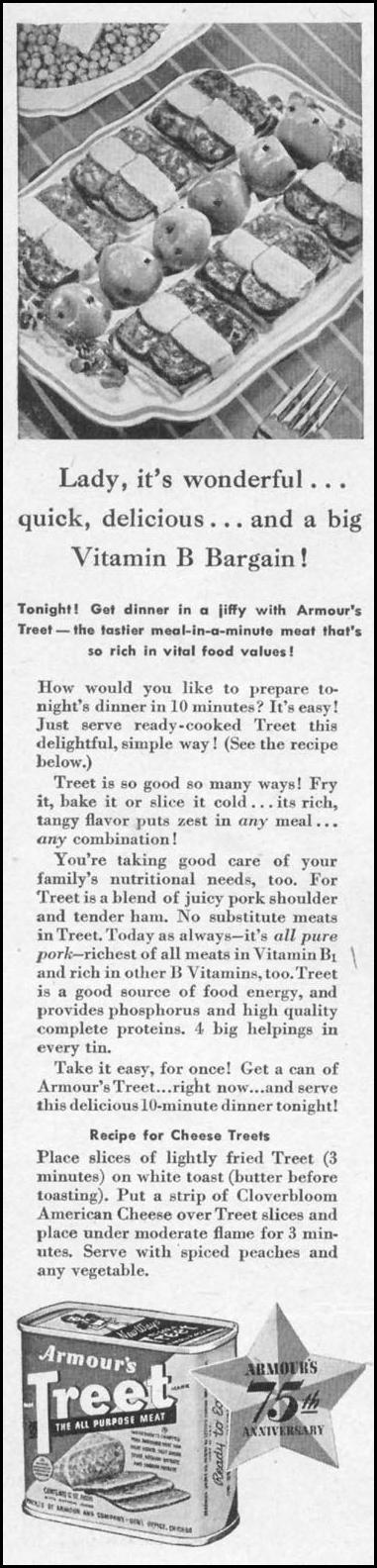 ARMOUR'S TREET WOMAN'S DAY 09/01/1942 p. 2