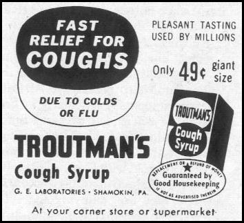 TROUTMAN`S COUGH SYRUP LIFE 02/02/1959 p. 96