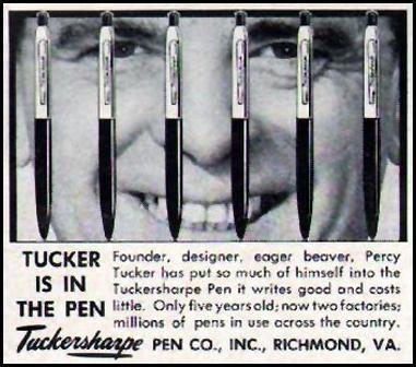 TUCKERSHARPE PENS LIFE 04/01/1957 p. 134