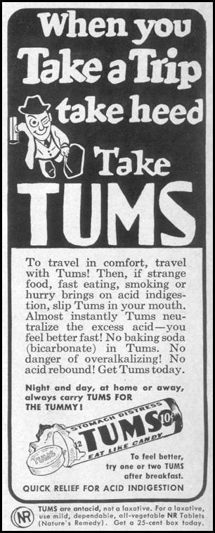 TUMS ANTACID LIFE 10/11/1948 p. 134