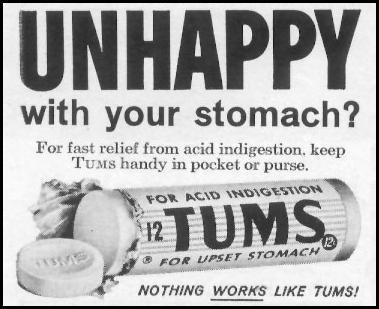 TUMS ANTACID LIFE 12/14/1959 p. 124