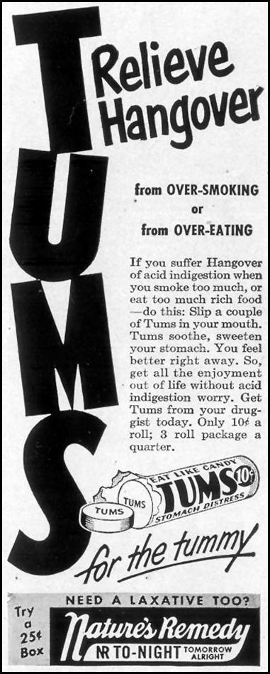 TUMS ANTACID LIFE 12/25/1950 p. 79