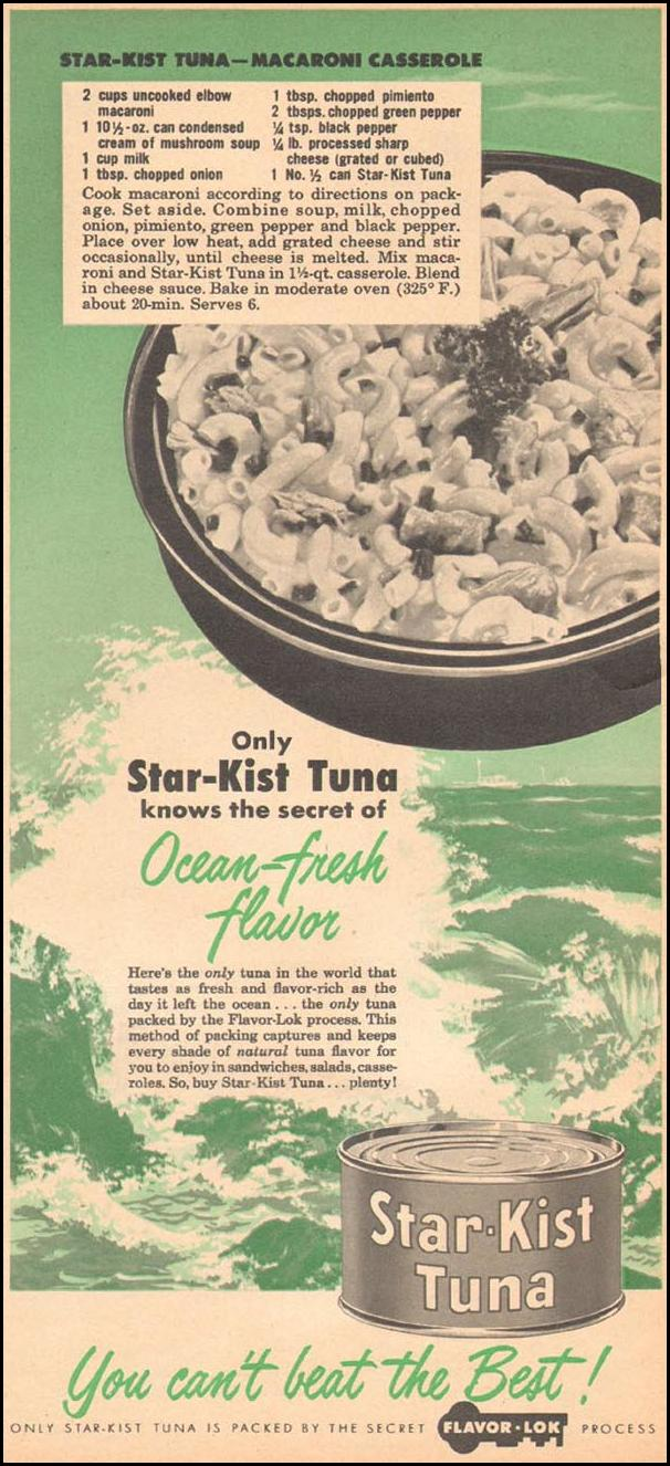 STAR-KIST TUNA FAMILY CIRCLE 02/01/1957 p. 59