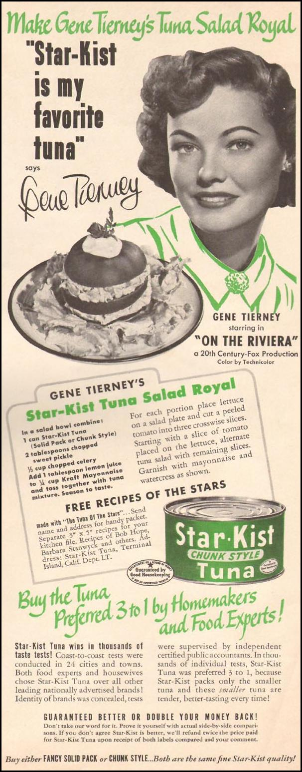STAR-KIST TUNA LIFE 07/02/1951 p. 107