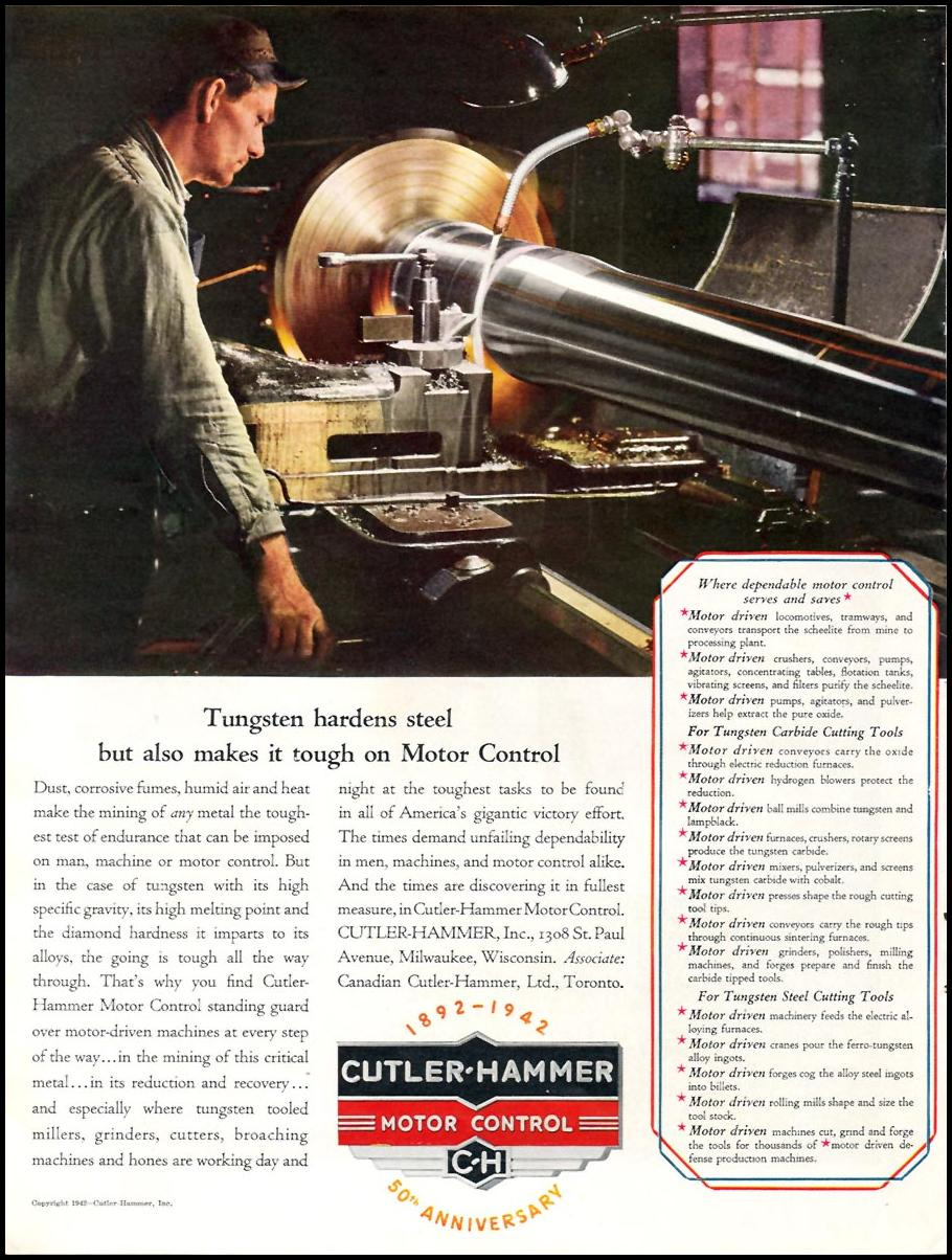 CUTLER-HAMMER MOTOR CONTROL TIME 06/15/1942 p. 58