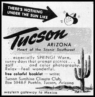 ARIZONA VACATIONS BETTER HOMES AND GARDENS 03/01/1960 p. 104