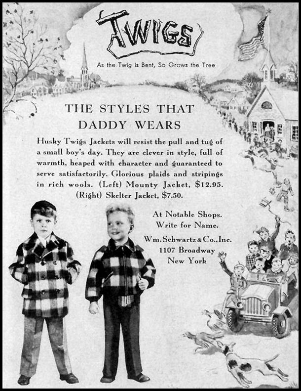 TWIGS BOYS' JACKETS LIFE 11/15/1948 p. 164