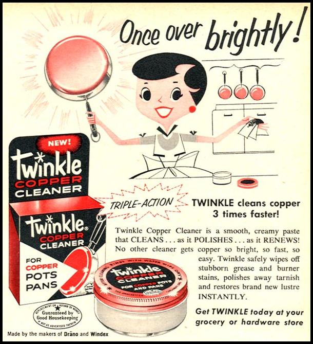 TWINKLE COPPER CLEANER FAMILY CIRCLE 01/01/1956 p. 51
